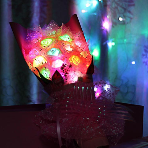 Illuminated Rose Bouquet - Looker Gifts