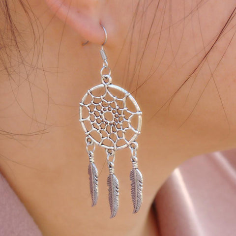 Dreamcatcher Angel Earrings - Looker Gifts