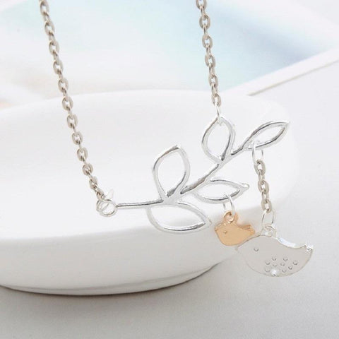 Mom's Little Nest Necklace - Looker Gifts