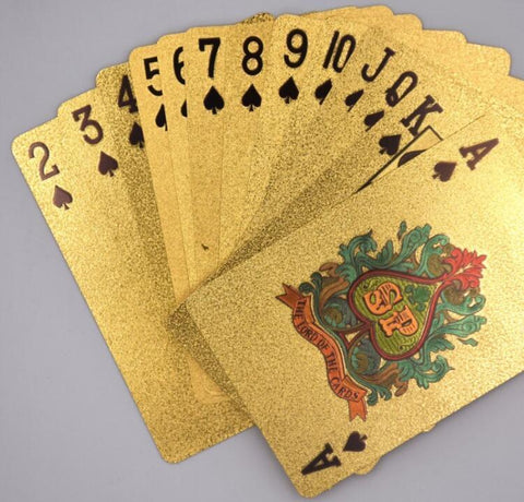 Gold Foil Playing Cards - Multiple Designs - Looker Gifts