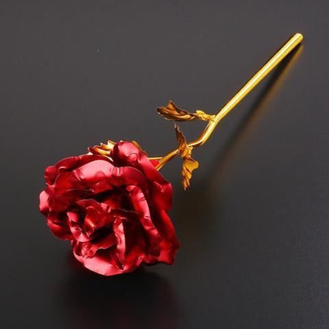 24K Golden Roses - Pick 2, Get 1 Free! - Looker Gifts