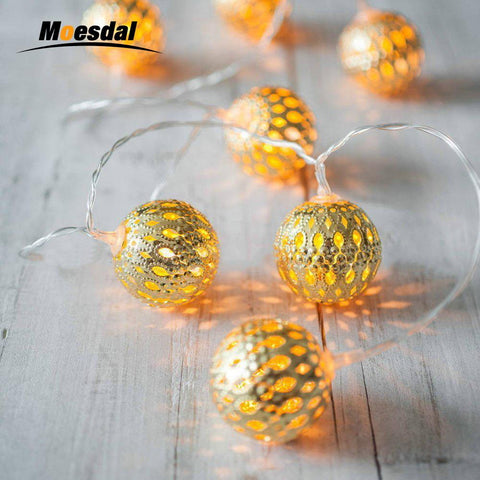 Solar Moroccan String Lights - Looker Gifts