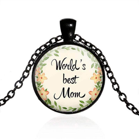 World's Best Mom Necklace - Looker Gifts