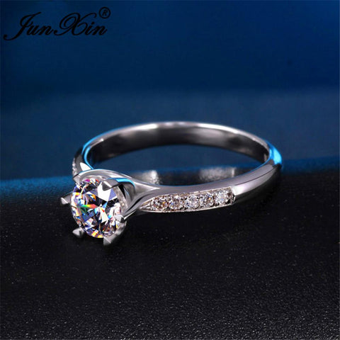 Luxury White Sapphire Ring - Looker Gifts