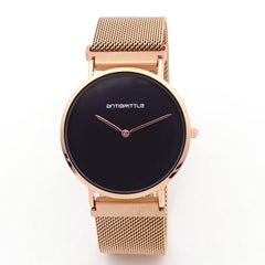 Minimalist Luxury Black Watch