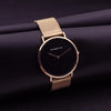 Image of Minimalist Luxury Black Watch - Looker Gifts