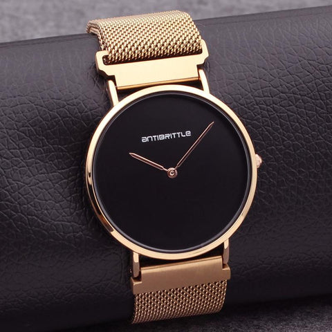 Minimalist Luxury Black Watch - Looker Gifts