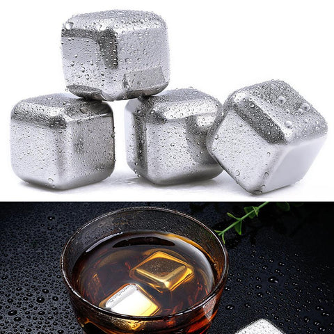 Stainless steel Whisky Ice Cubes - Looker Gifts