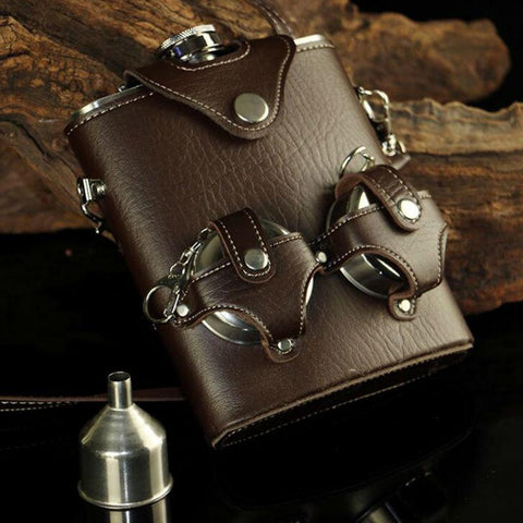 Stainless Steel Hip Flask - Looker Gifts