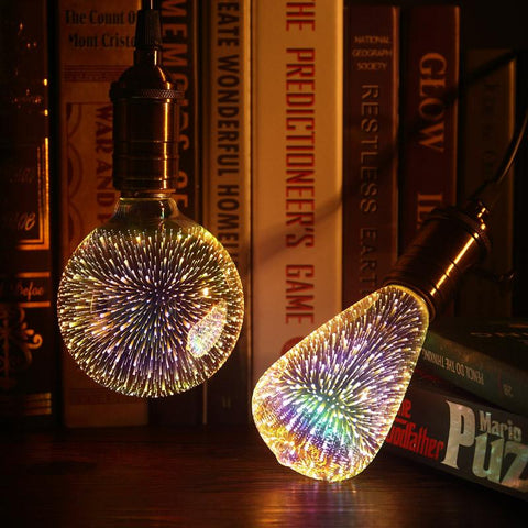 3D Galaxy Bulbs - Looker Gifts