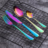 Image of iTensils ™ Rainbow Flatware - Looker Gifts