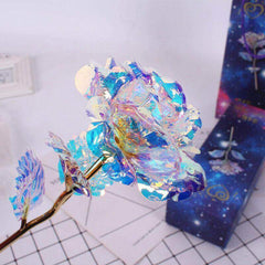 Iridescent LED Rose
