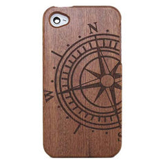 Etched Bamboo Phone Case Covers