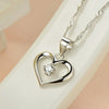 Image of Hollow Heart Necklace - Looker Gifts
