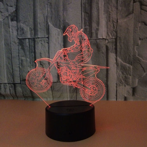 3D Motorcycle Light - Looker Gifts