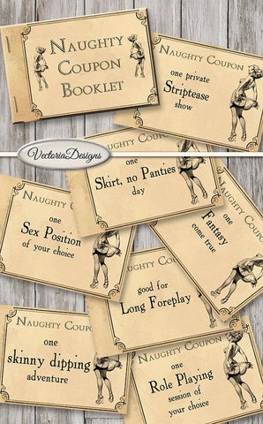 Printable Naughty Coupons - Looker Gifts