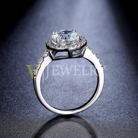 Round Cut Halo Engagement Ring - Looker Gifts