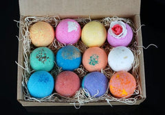 12 Bath Bomb Set in Gift Ready Box