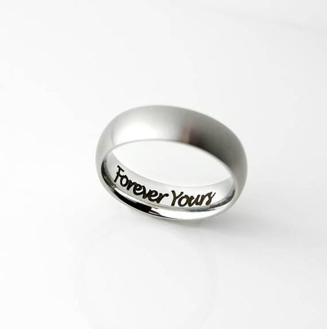 Mens Promise Ring - Looker Gifts