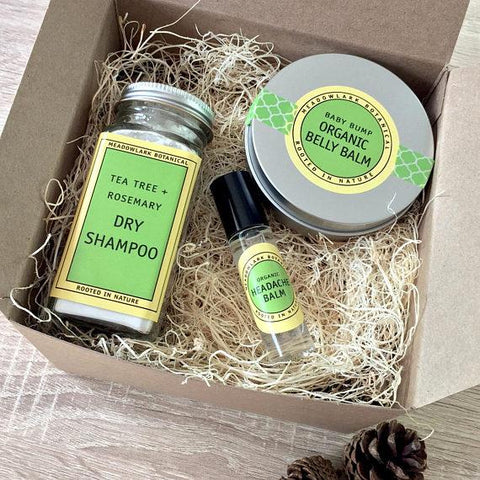New Mom Gift - Organic Self Care Spa Kit - Looker Gifts