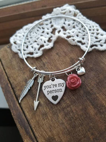 You're My Person bracelet - Looker Gifts