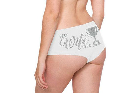 Valentine's Lingerie Gift - Cute Phrases Panties - Many Designs - Looker Gifts