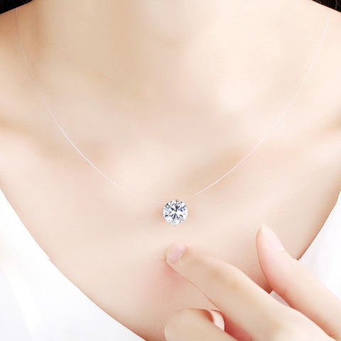 Dazzling Zircon Necklace - Looker Gifts
