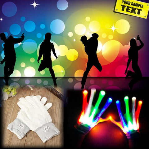 LED Color Changing Gloves - Looker Gifts
