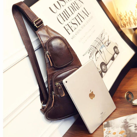 Genuine Leather Cowhide Sling - Looker Gifts