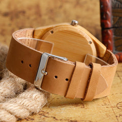 Bamboo Skull Watch