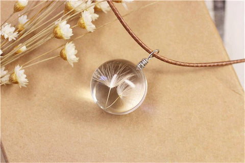 Wish Dandelion Necklace - Looker Gifts