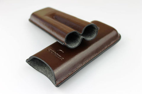 Cigar Case | Moulded Leather - Looker Gifts