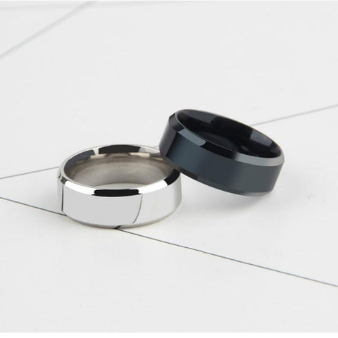 Men's Pure Titanium Ring - Looker Gifts