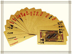 Gold Foil Playing Cards - Multiple Designs