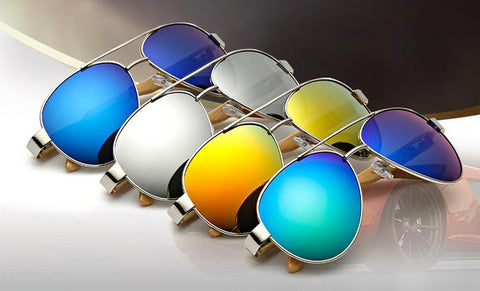 Aviator Wood Sunglasses - Looker Gifts