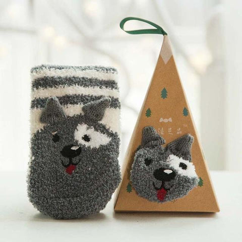 Holiday Pet Socks - Looker Gifts