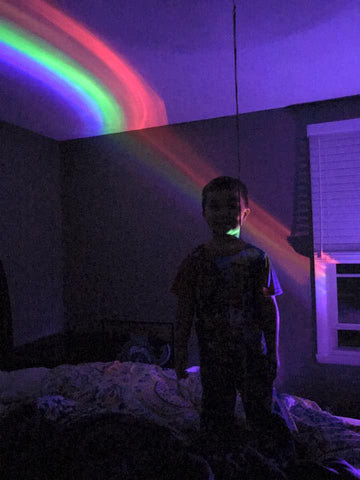 Rainbow Projector Light - Looker Gifts