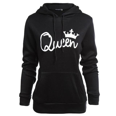 Printed Couples Hoodies - Looker Gifts