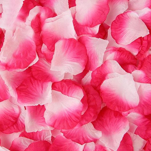 500 Pcs Silk Rose Petals - Looker Gifts