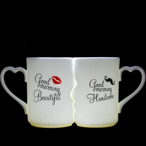 Lovers' Porcelain Tea Cups - Looker Gifts