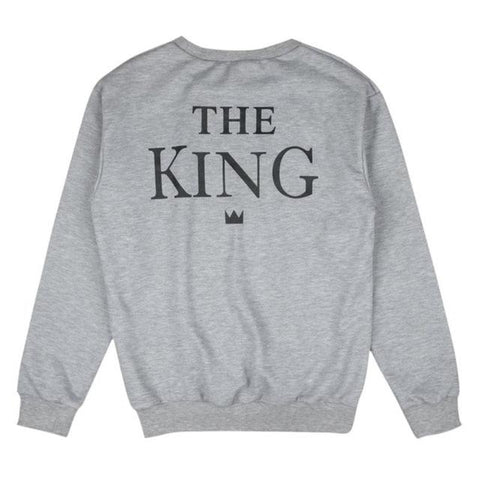 Couples King & Queen Sweatshirts - Looker Gifts