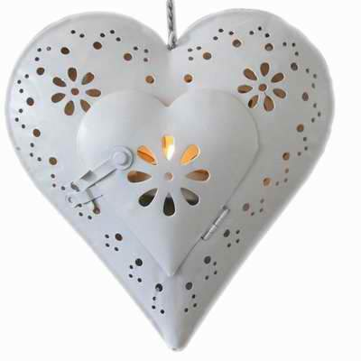 Heart Tealight Candle Holder - Looker Gifts
