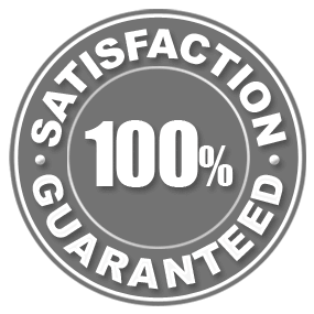 Image of We make sure you are 100% Satisfied with your purchase.