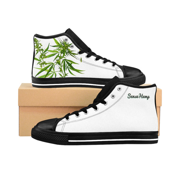 Men's High-top Sneakers,Shoes,Printify,SENSE Hemp