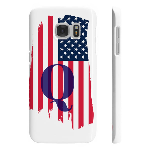 Trump, Qanon, MAGA, 4chan, 8chan, Gildan Iphone Slim Phone Cases,Phone Case,Printify,SENSE Hemp