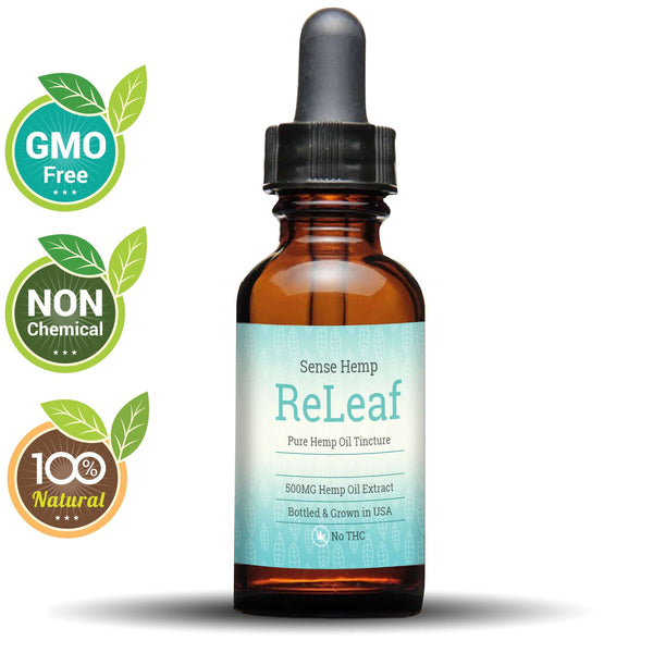 500mg CBD Naked (Non-Flavored) -  SENSE Hemp,CBD TINCTURE,SENSE HEMP,SENSE Hemp.