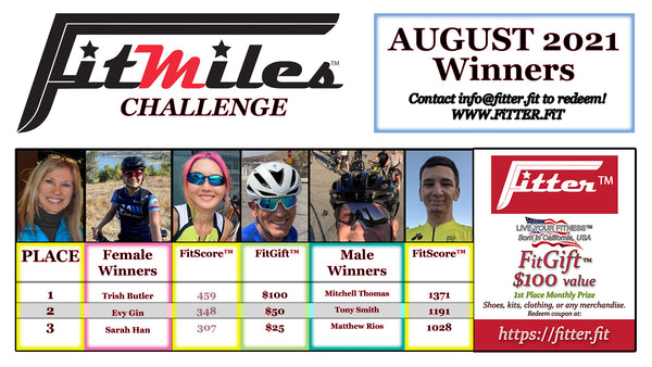 FitMiles August 2021