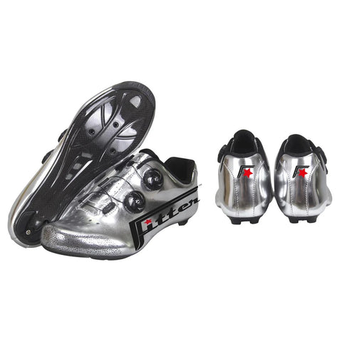 Silver Bullets Cycling Shoes & Socks Combo - Road