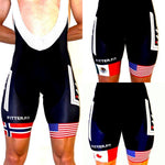 Custom Flag/Logo Cycling Shorts