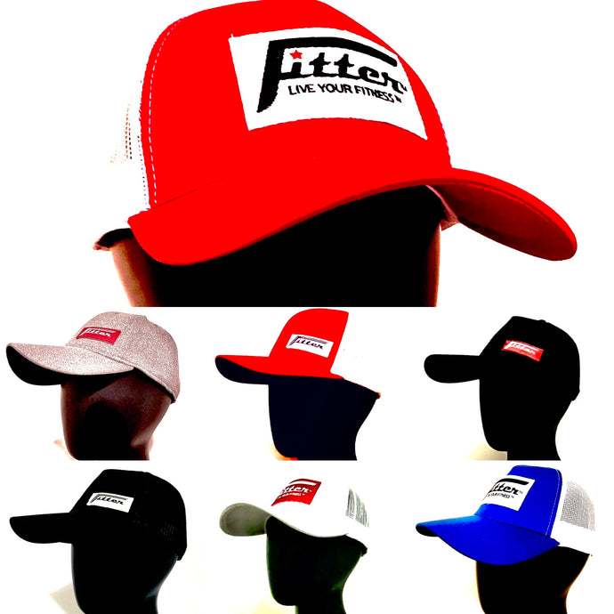 FiTTER Caps (FlexFit™ and Sport-Tek)